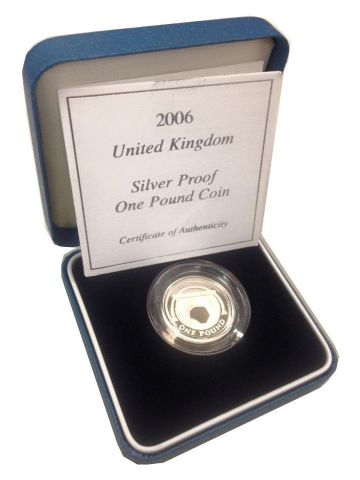 2006 Silver Proof One Pound Coin